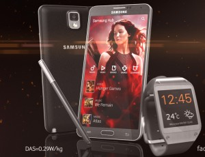 Samsung Gnote3 & Gear – Hunger Games